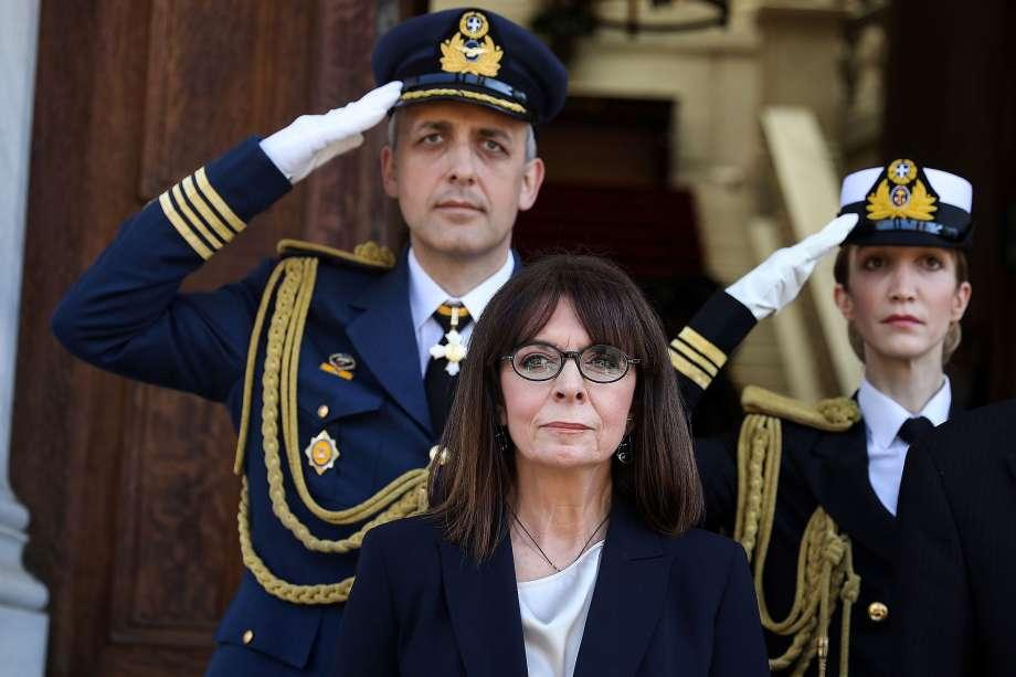 President Katerina Sakellaropoulou