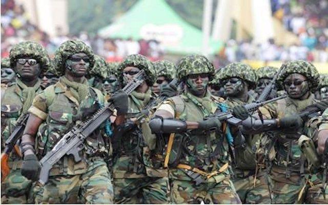Nigerian Army begins massive shooting in Rivers