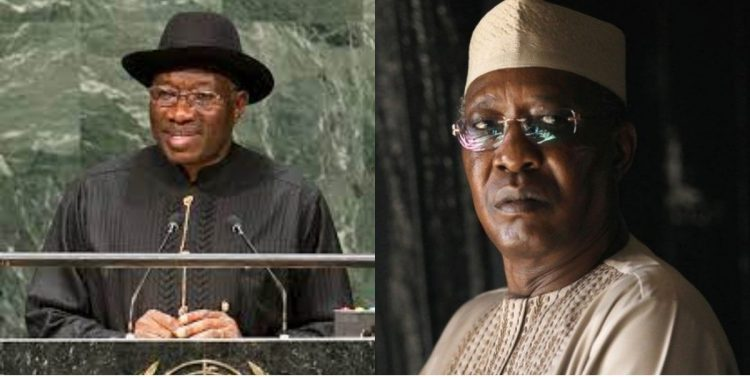 Jonathan reveals what he would remember late Chad's president Deby for