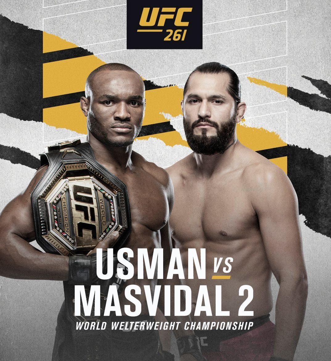 Masvidal vs Kamaru Usman