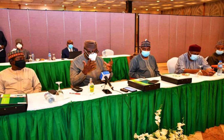 Nigeria Governors' orum, NGF during their meeting