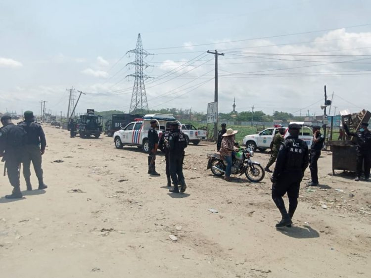 Police restore normalcy to Iyana Iba after okara riders' clash