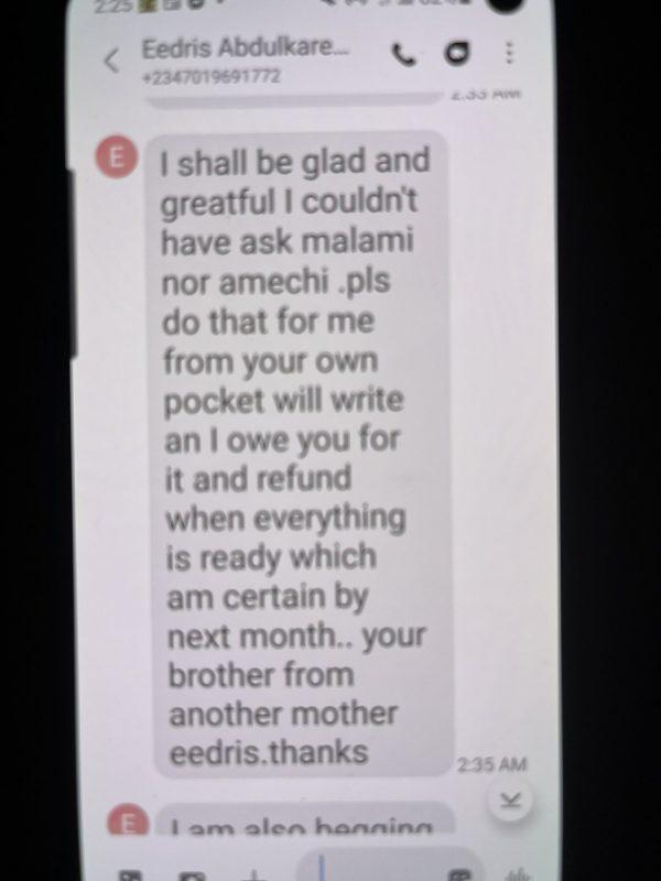 Keyamo's conversation with Abdulkareem