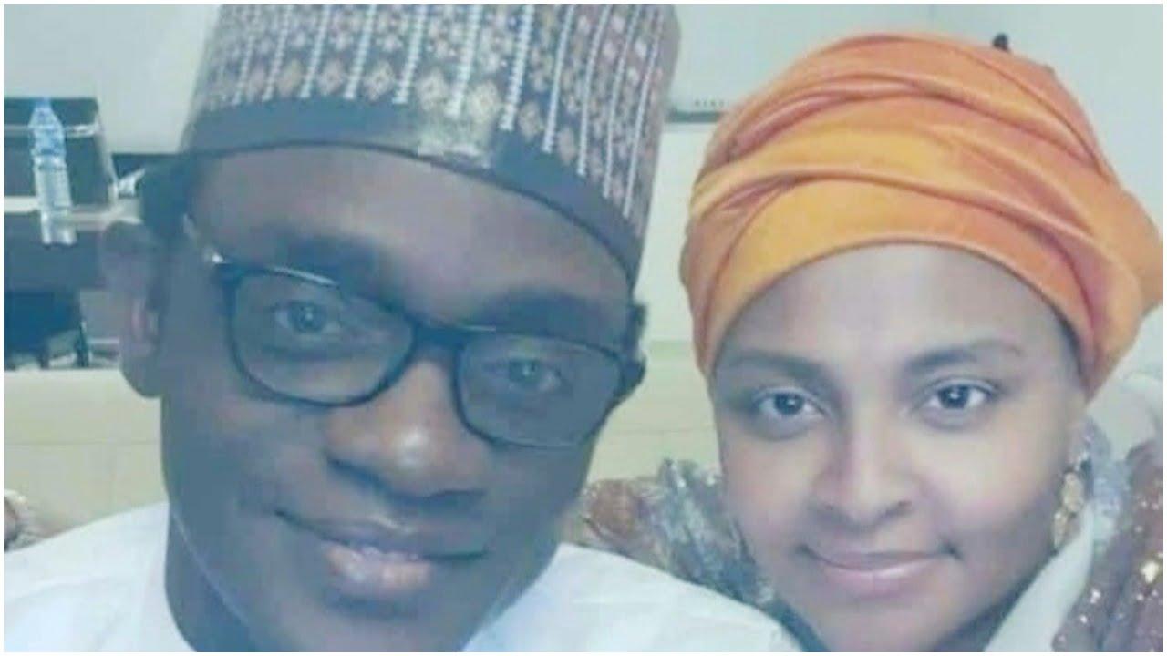 Gov. Mai Mala Buni and new wife, Gumsu Sani Abacha