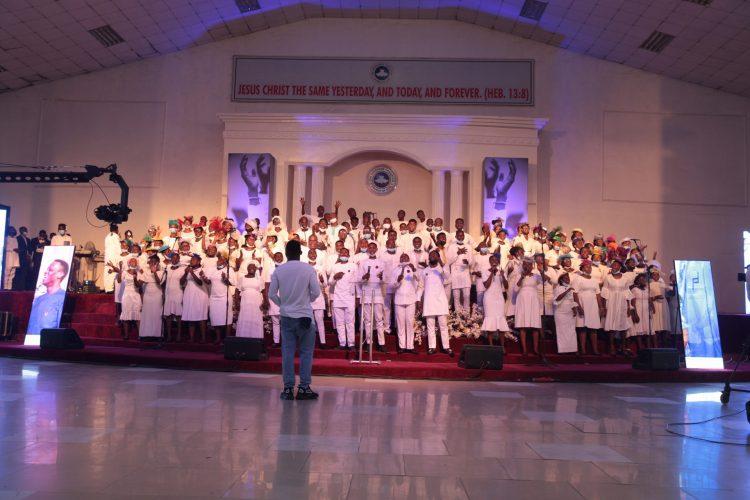 RCCCG choir ministering