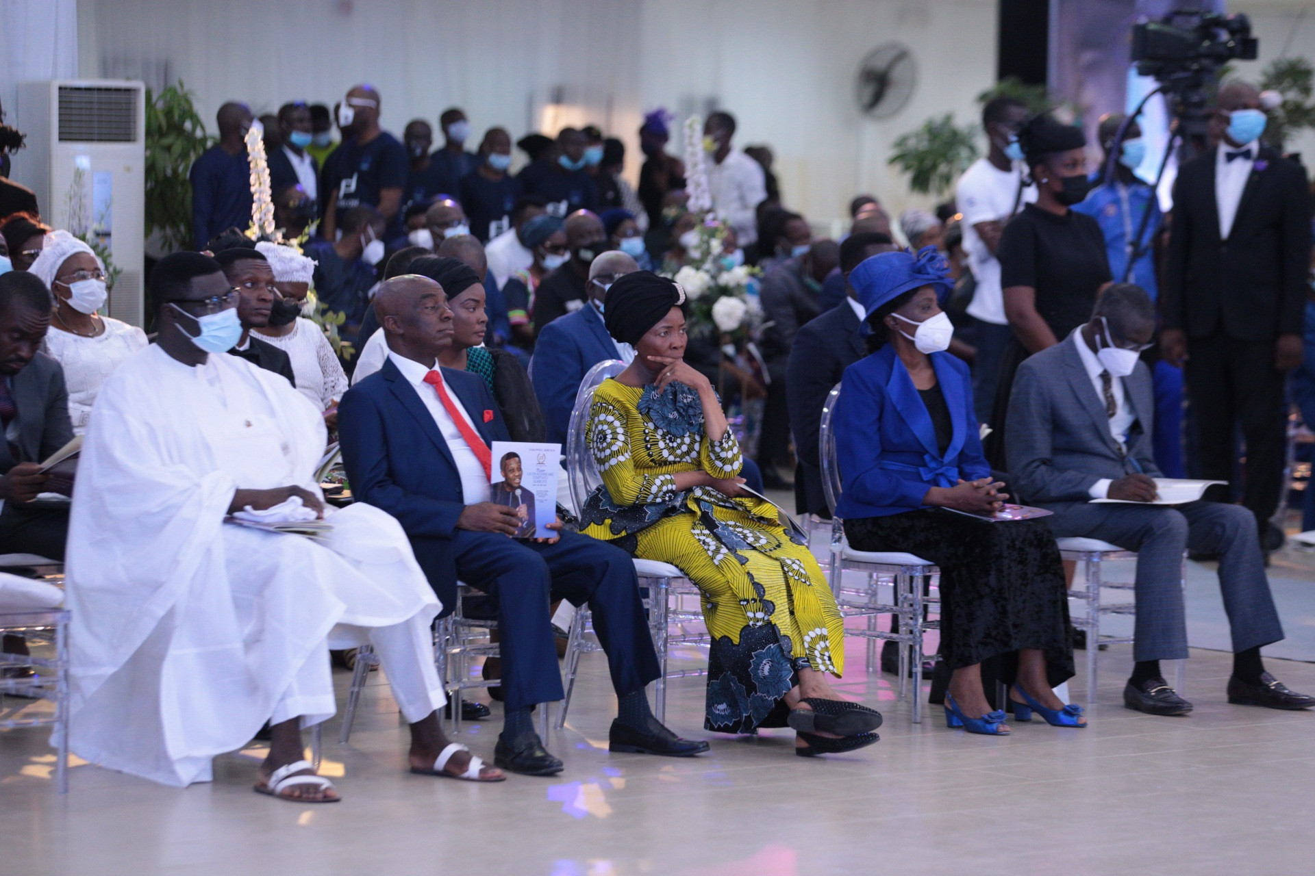 Dignitaries at the Farewell Service of Pastor Dare Adeboye, at the Youth Centre, Redemption Camp
