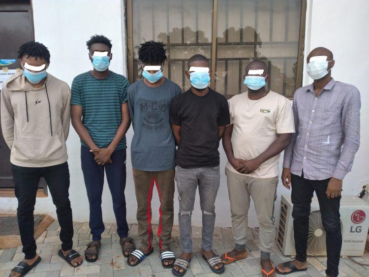 Six suspected Internet fraudsters busted in Enugu