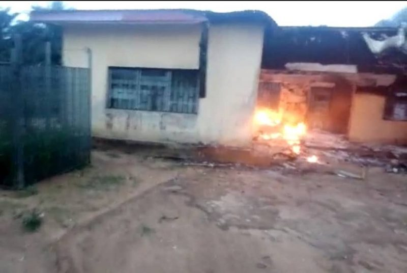 INEC office in Akwa-Ibom on fire