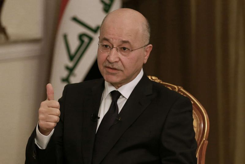 Iraqi President Barham Salih sues for peace amidst Israeli-Palestine tension