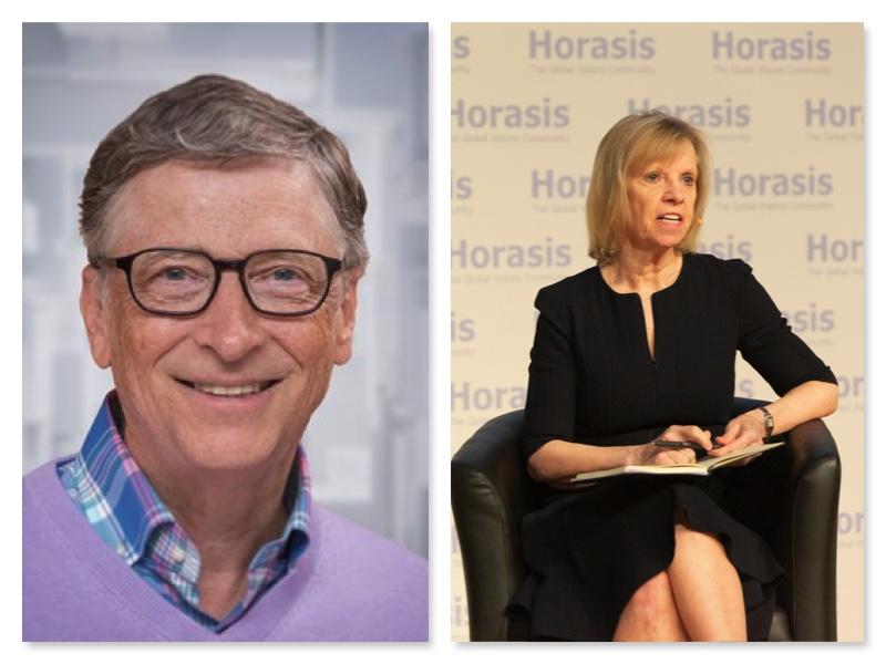 Bill Gates and Ann Winblad the other woman