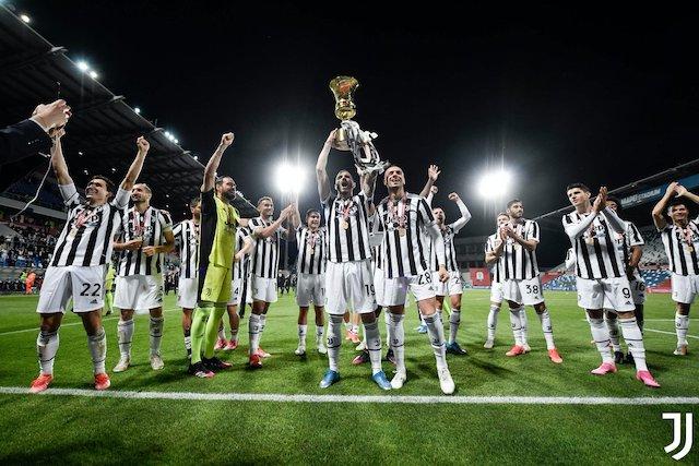Coppa Italia winners Juventus