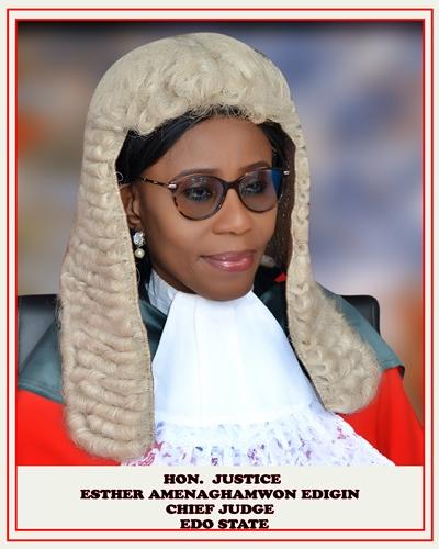 Chief Judge of Edo, Esther Edigin
