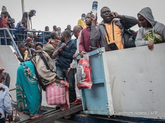 Exodus from  Goma as Mount Nyiragongo volcano threatens