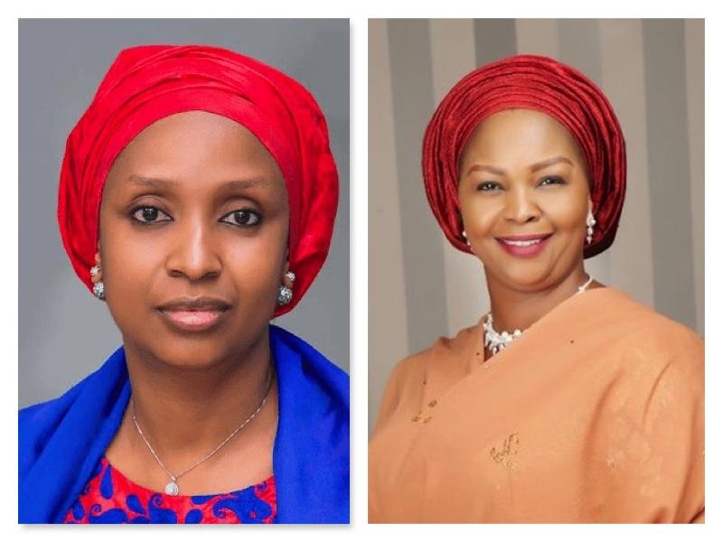 Hadiza Bala Usman and Binta Masi Garba tear at each other over NPA affair