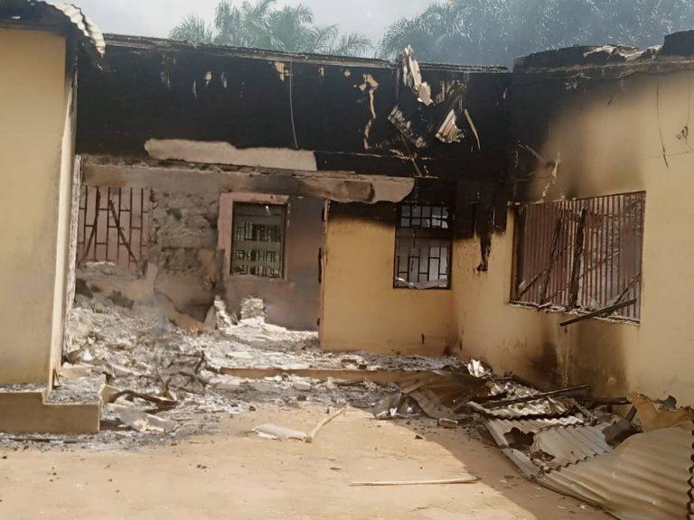 INEC office burnt in Akwa Ibom