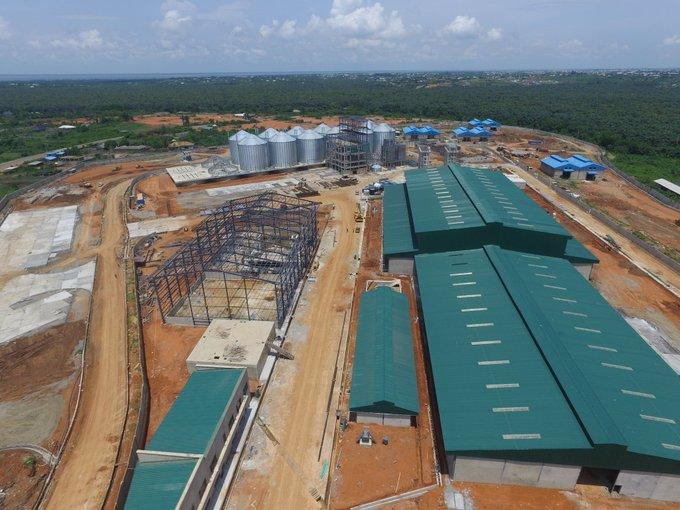 Imota Rice Mill under construction