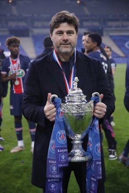 Mauricio Pochettino wins first trophy with PSG