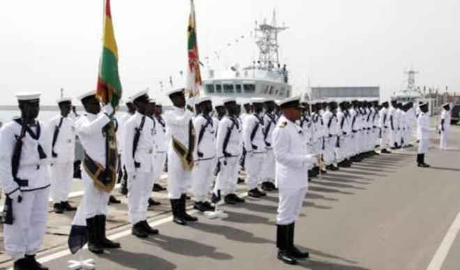 Nigerian Navy recruits