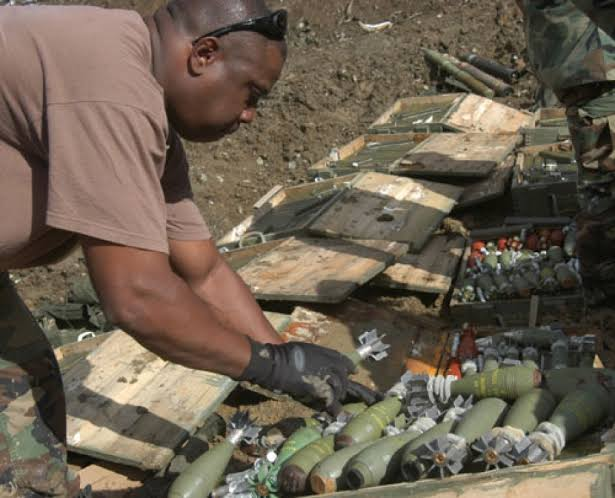 Nigerian Army destroys unserviceable ammunition, explosives in Imo state
