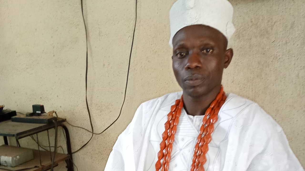 Obasaoye of Isaoye Ekiti, Oba Gabriel Olajide