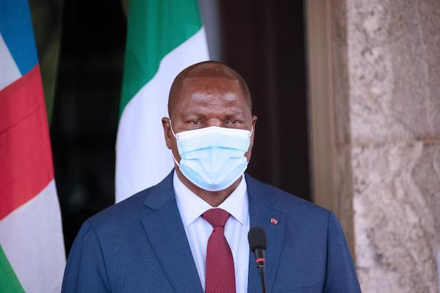 President of Central African Republic (CAR) H.E Prof Faustine Archange Touadera