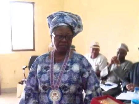Professor Felicia Adebola Adedoyin, Author of Nigeria's National Pledge