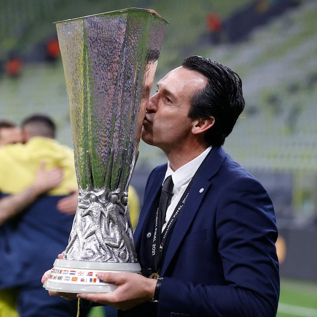 Unai Emery relishes 4th Europa title with Villarreal