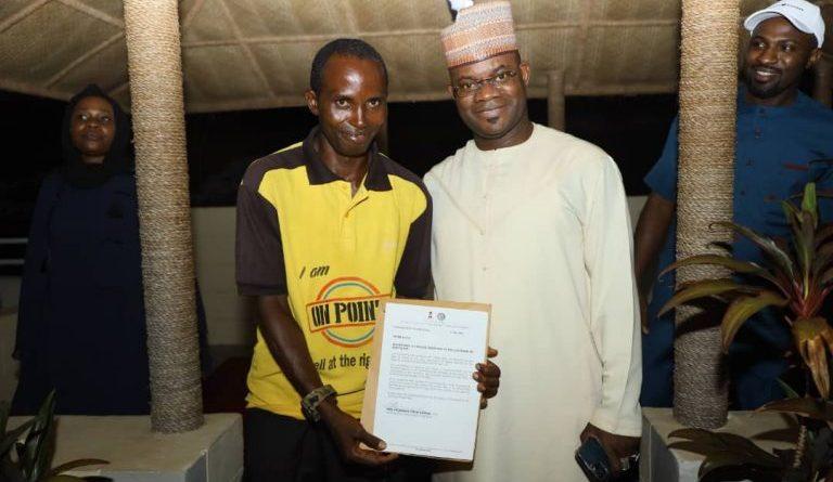 Yahaya Bello and Peter Aliyu