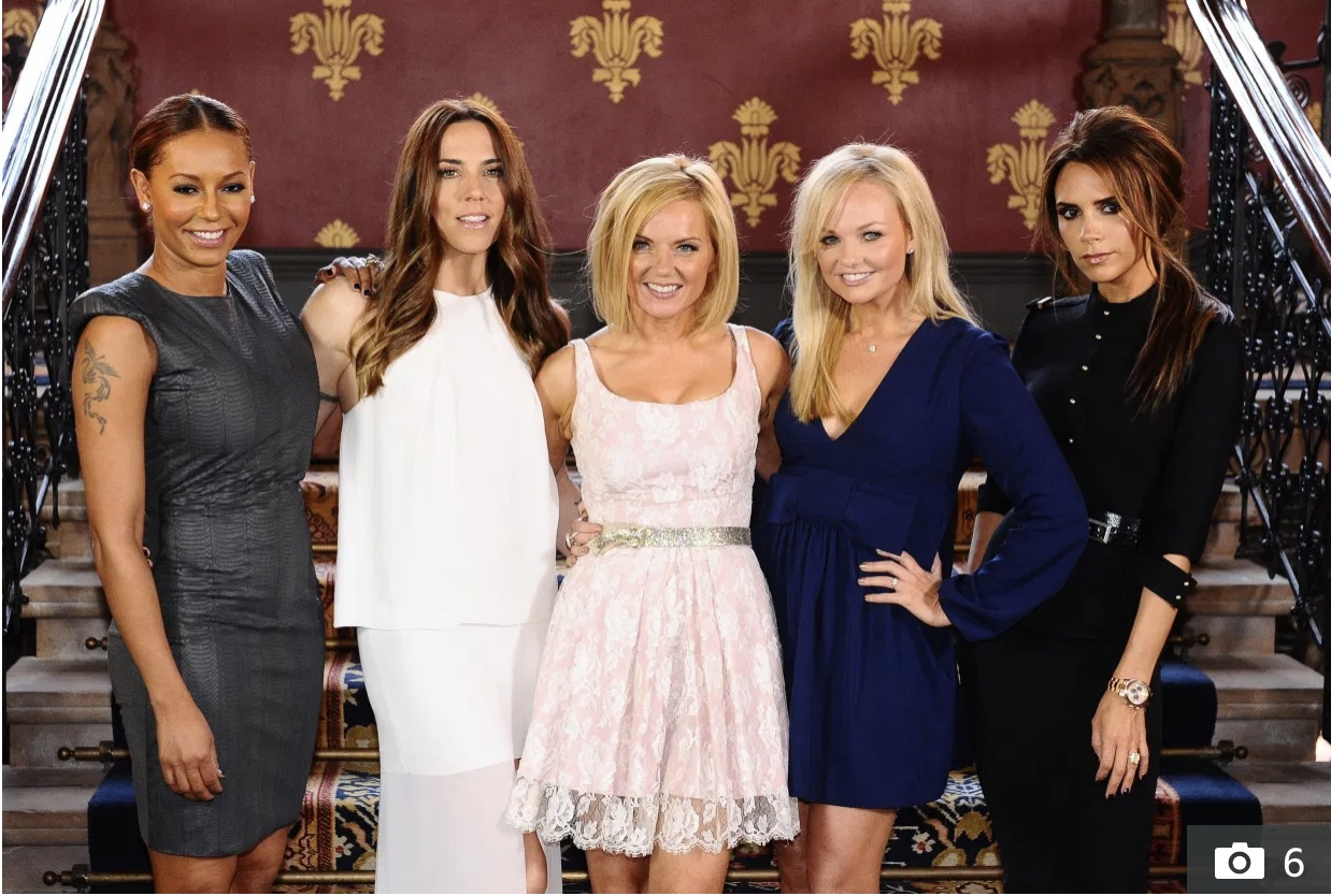 All the Spice Girls