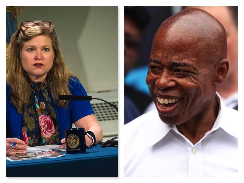 Eric Adams and Kathryn Garcia- Gap narrows in New York mayoral race