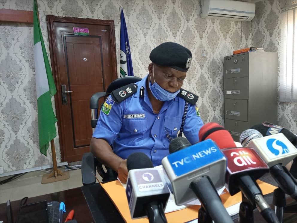 Tunde Mobayo Ekiti Police Commissioner