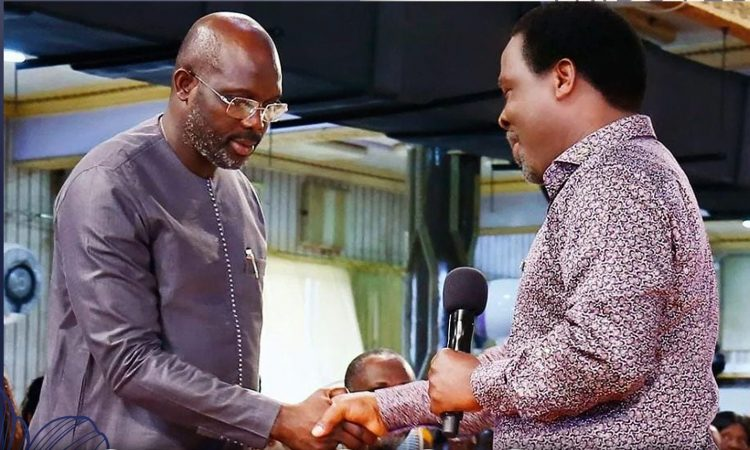 I'm saddened by T.B. Joshua's death, he impacted my life - President Weah