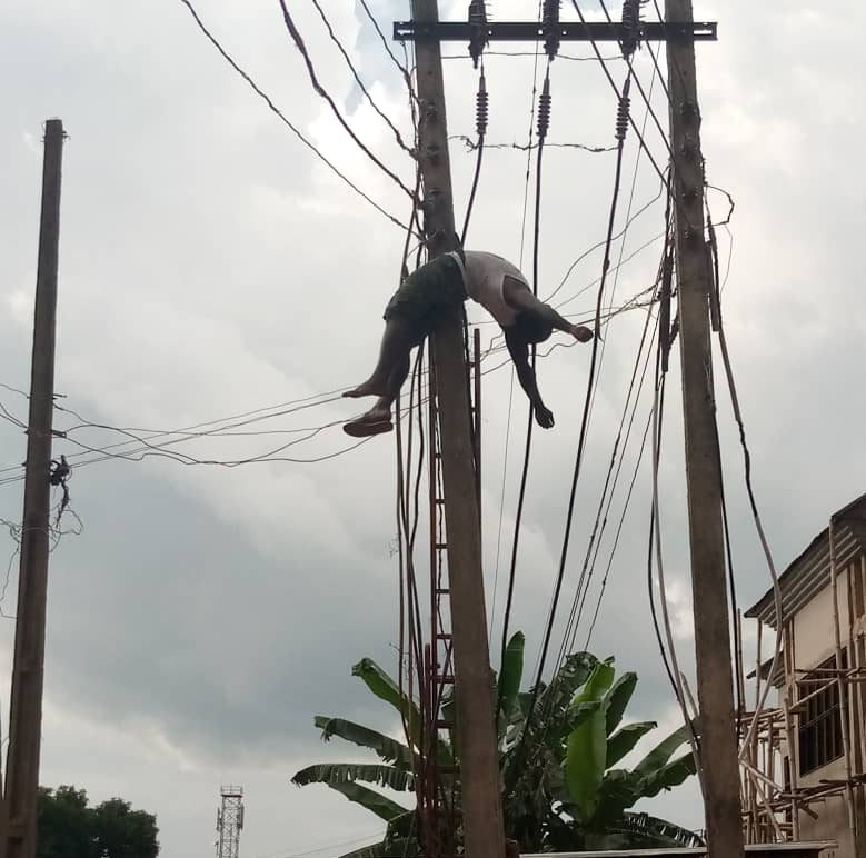 Illegal connection: Edo man Onyeka Augustin electrocuted