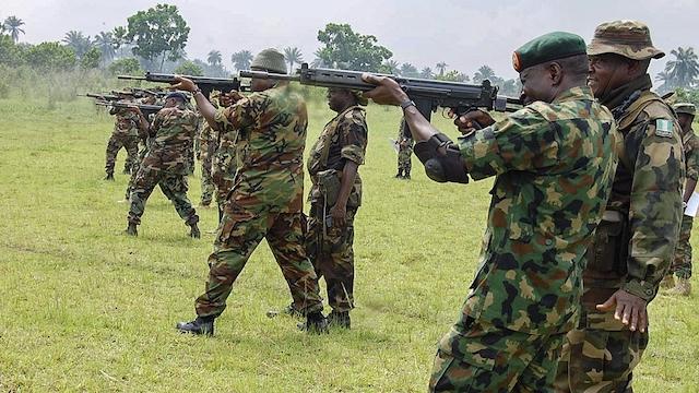 Nigerian soldiers begin shooting exercise in Rivers tomorrow