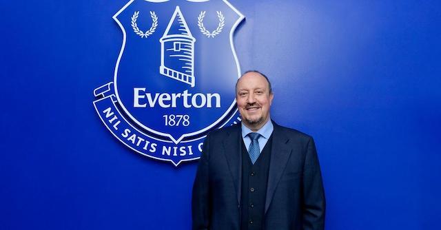 Rafa Benitez the new manager at Everton
