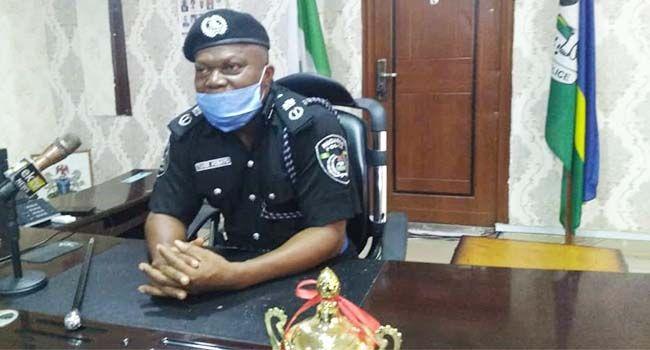 Ekiti police spokesman  Sunday Abutu: speaks on the kidnap