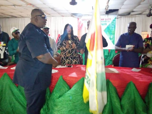 Uche Ugwoji is ZLP governorship candidate in Anambra