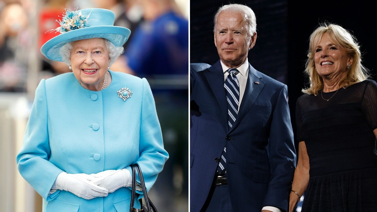 Joe Biden meets Queen Elizabeth