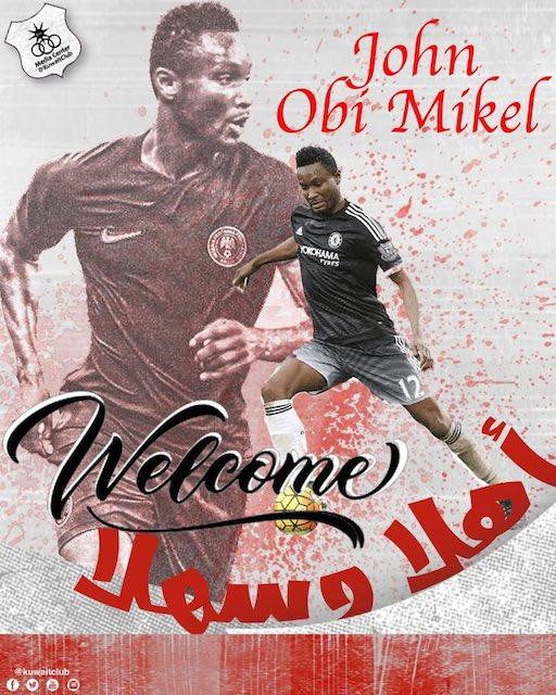 Al Kuwait SC sign Mikel Obi