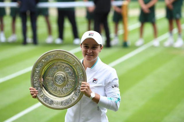 Ashleigh Barty 2021 Wimbledon Champion