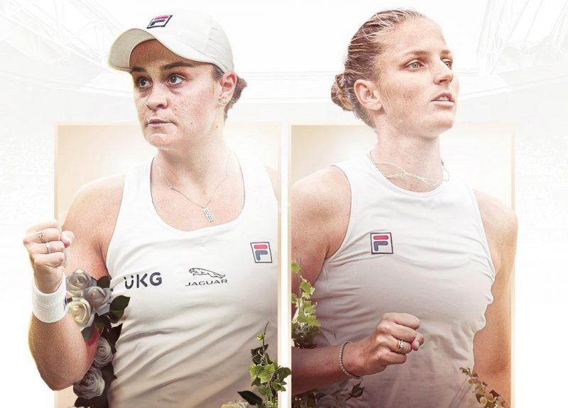 Barty v Pliskova in Wimbledon singles final