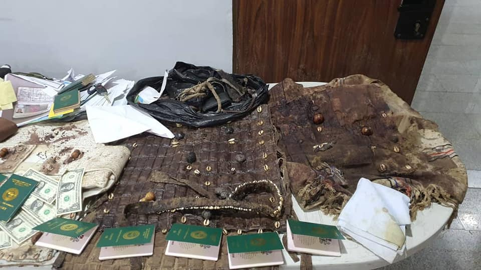 Local Bullet proof vests recovered in Igboho's house