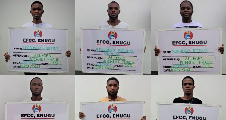 12 students sent to jail for internet fraud in Enugu