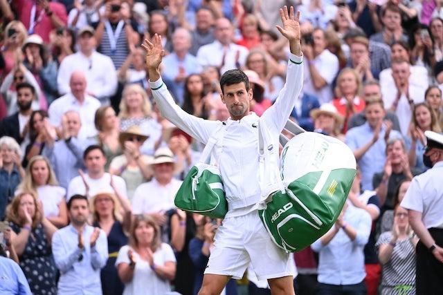 Novak Djokovic:  another stellar performance against Shapovalov at Wimbledon