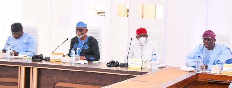 Southern governors meet in Lagos