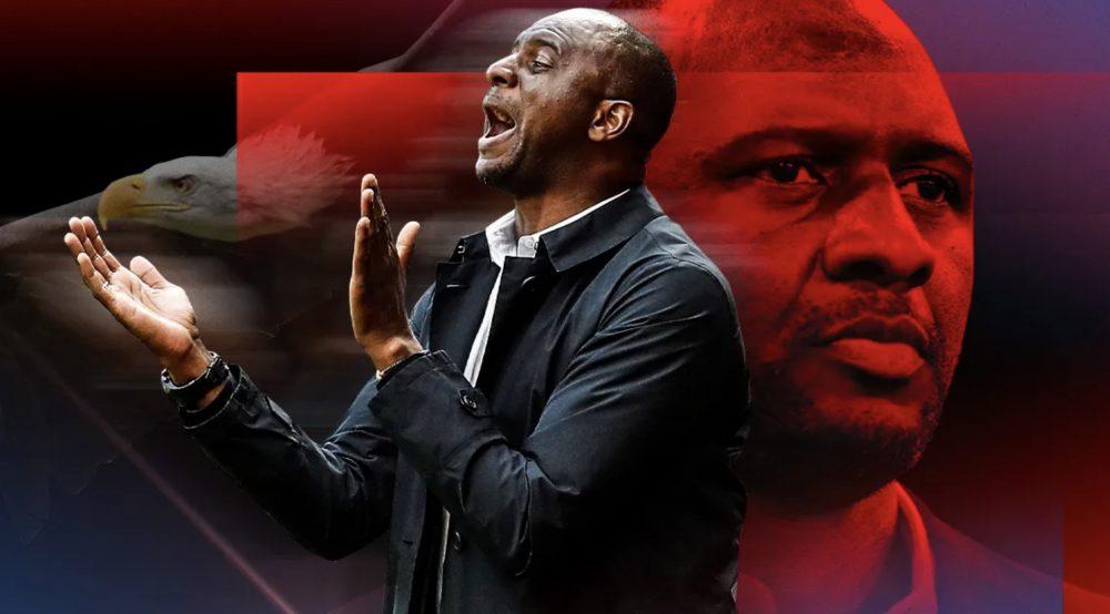 Patrick Vieira new Crystal Palace coach