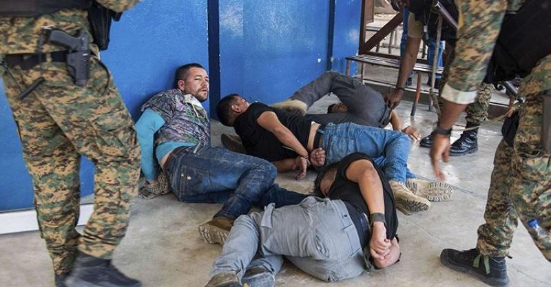 Some of the suspects arrested for the assassination of Haiti President Moise