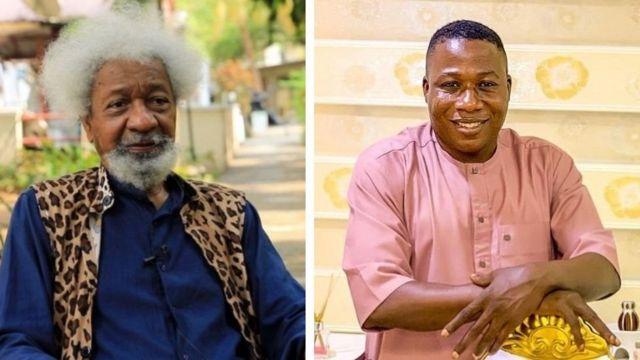 Wole Soyinka and Sunday Igboho