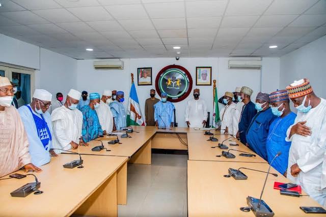 AbdulRazak, Gambari and the members of the Adebayo led committee