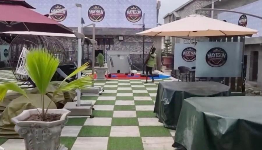 Another view of Wasiu Ayinde's Mayegun Royal Resort Ijebu Ode